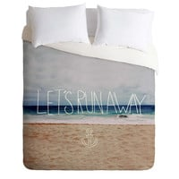 Leah Flores Lets Run Away III Duvet Cover