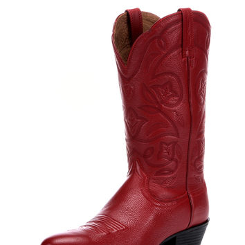 Women's Heritage Western R Toe Boot - Red Deertan