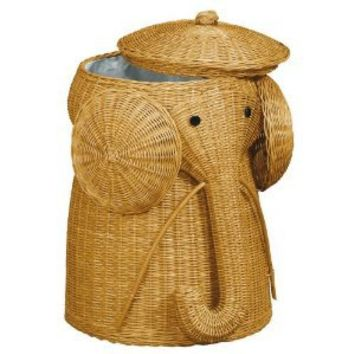 Home Decorators Collection Elephant Honey Laundry Hamper