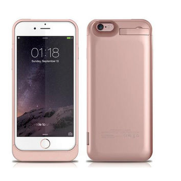 External Battery Case Power Charger Charging Cover For Iphone 7 / 6 / 6s / 6 Plus / 6s Plus / Iphone Se / Iphone5 / Iphone5s