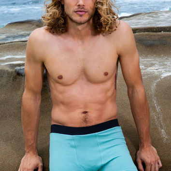 Sauvage Banded Contour Short  | Sauvage Swim Shorts