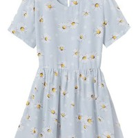 Goddess Floral Flimsy Chiffon Dress - OASAP.com
