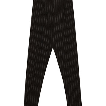 Pinstripe trousers - Trousers - Clothing - Woman - PULL&BEAR United Kingdom