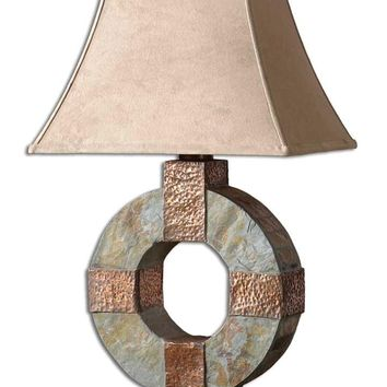 Slate Table Lamp