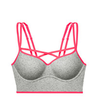 Strappy Push-Up Bralette - PINK - Victoria's Secret