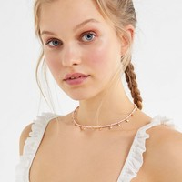 Arielle Beaded Short Necklace | Urban Outfitters
