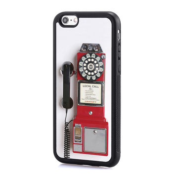 Old Telephone Cell Phone Case for iPhone and Samsung Series,More Phone Models For Choice
