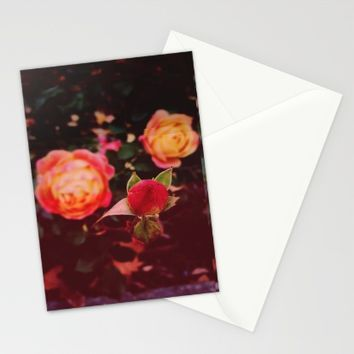 Living Color Stationery Cards by Ducky B
