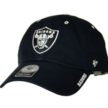 Oakland Raiders Ice Clean Up Hat By '47 Brand