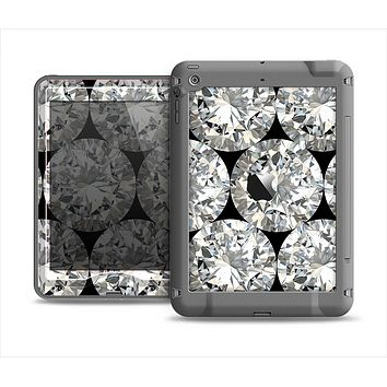 The Diamond Pattern Apple iPad Mini LifeProof Nuud Case Skin Set