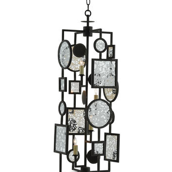 Currey Company Gallerist Chandelier