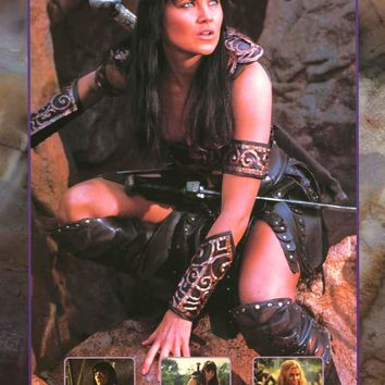 Xena: Warrior Princess 1998 TV Show Poster 24x36