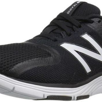 DCCK1IN new balance men s mx818v2 cross trainer black white outer space 9 d m us