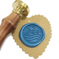 WATER TRIBE Wax Seal Stamp or Wax Stick Box Set
