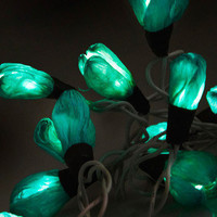 Every Flower is Illuminated Light Set in Teal | Mod Retro Vintage Electronics | ModCloth.com