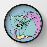 Obobitohr Wall Clock by Bruce Stanfield