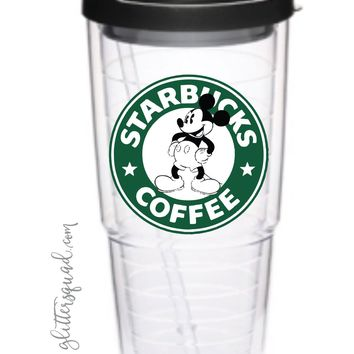 24 oz Starbucks Mickey Tumbler