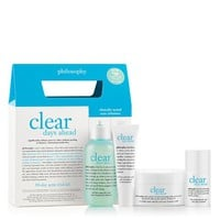 clear days ahead | acne trial kit | philosophy kits & bundles
