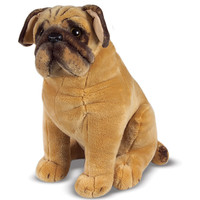 Melissa & Doug Plush Pug Stuffed Animal | Overstock.com Shopping - The Best Deals on Animal Toys