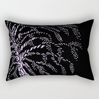 Wisteria Tree Rectangular Pillow by ES Creative Designs