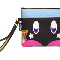 It's The Bomb Clutch Bag With Wristlet | Nintendo Super Mario Bob Omb Inspired | Purse | Geek Chic