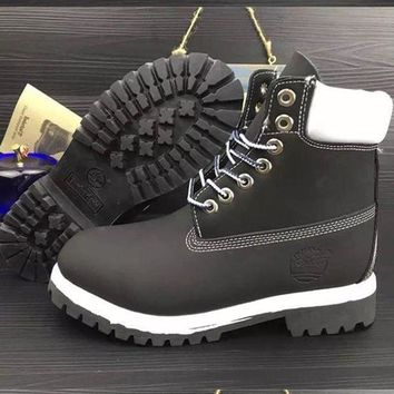 Timberland Fashion Winter Waterproof Boots Martin Leather Boots Shoes-3