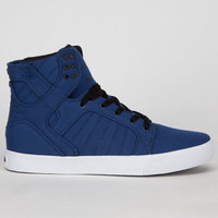 Supra Skytop Mens Shoes Navy/Black/White  In Sizes