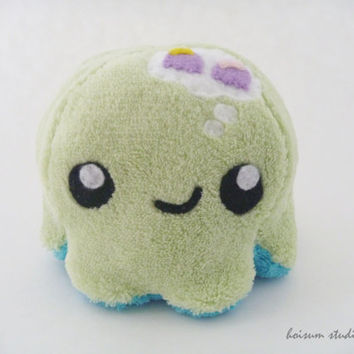 Octopus Plush - The Thoughtful Tako *Twins Rock!*