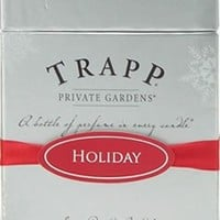 Trapp Private Gardens Holiday Candle
