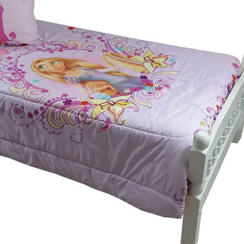Disney Tangled Twin Bed Comforter Magic Heart Bedding