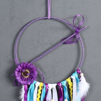 Indian style feather dream catcher Home wall hangings Hand-woven dream catcher