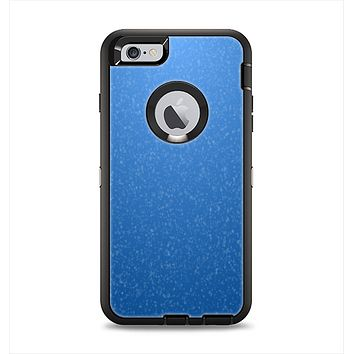 The Blue Subtle Speckles Apple iPhone 6 Plus Otterbox Defender Case Skin Set