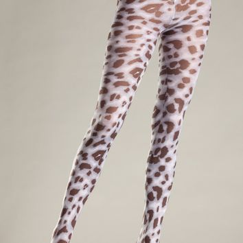 Be Wicked Animal Print Pantyhose