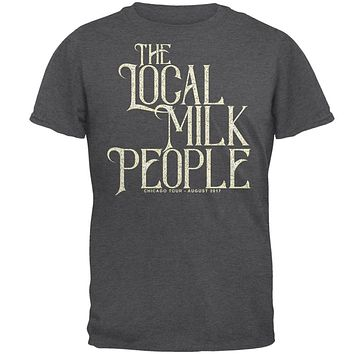 The Local Milk People Band Chicago Tour Mens T Shirt