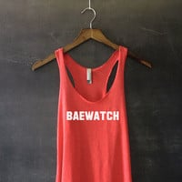 Baewatch Racerback Tank Top for Women