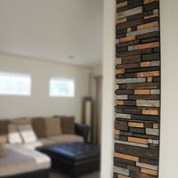 Modern Reclaimed Wood Wall Art