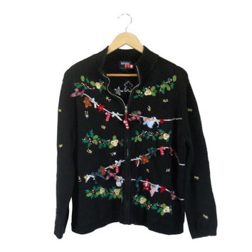 Women Ugly Christmas Sweater Party Ugly Holiday Sweater Christmas Cardigan Tacky Christmas Plus Size Christmas Sweater Plus Size Cardigan