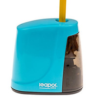 Best Electric Pencil Sharpener - Battery Operated - For Home, Office, Kids, Teachers - Blue