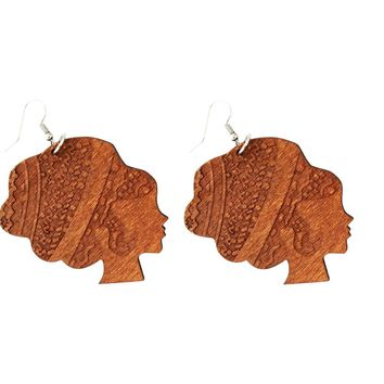 Southern Belle earrings | Natural hair earrings | Afrocentric earrings | jewelry | accessories