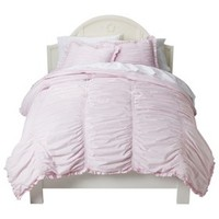 Simply Shabby Chic® Rouched Comforter Set - Pink