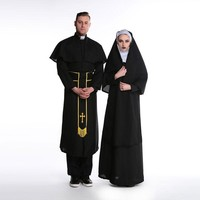cos prom clothing for men and women sexy nun priest of Our Lady of Jesus Christ [8978947399]