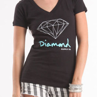 Diamond Supply Co Womens Clothing, T-Shirts, Tanks & More at PacSun.com.