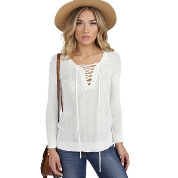 Ivory In Your Arms Pullover