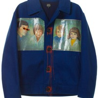 VFILES SHOP | FAMILY PORTRAIT BLUE JACKET by @jetpackhomme