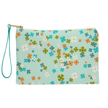 Heather Dutton Delilah Blue Pouch