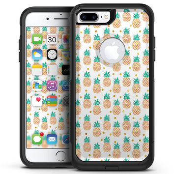 Tropical Summer Pineapple v1 - iPhone 7 or 7 Plus Commuter Case Skin Kit