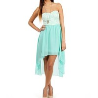 Gali- Mint Prom Dress
