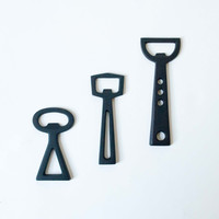 Simple Shape Cast Iron Bottle Openers