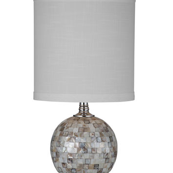 Bassett Mirror Dania Table Lamp - Mother of Pearl [L2794TEC]