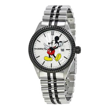 Invicta Disney Limited Edition Silver Dial Mens Watch 22773